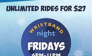 Wristband Night-Jenkinson's Boardwalk