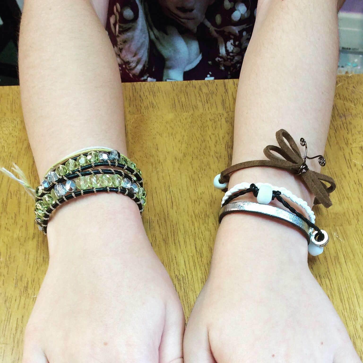 Leather Bracelet Class at Just Bead Yourself