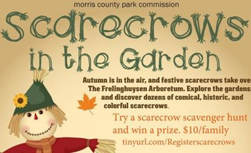 Scarecrows in the Garden-Frelinghuysen Arboretum-Morris Township
