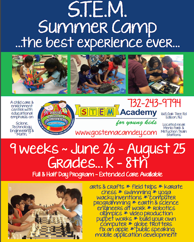 STEM CAMP at STEM Academy for Young Kids in Edison, NJ
