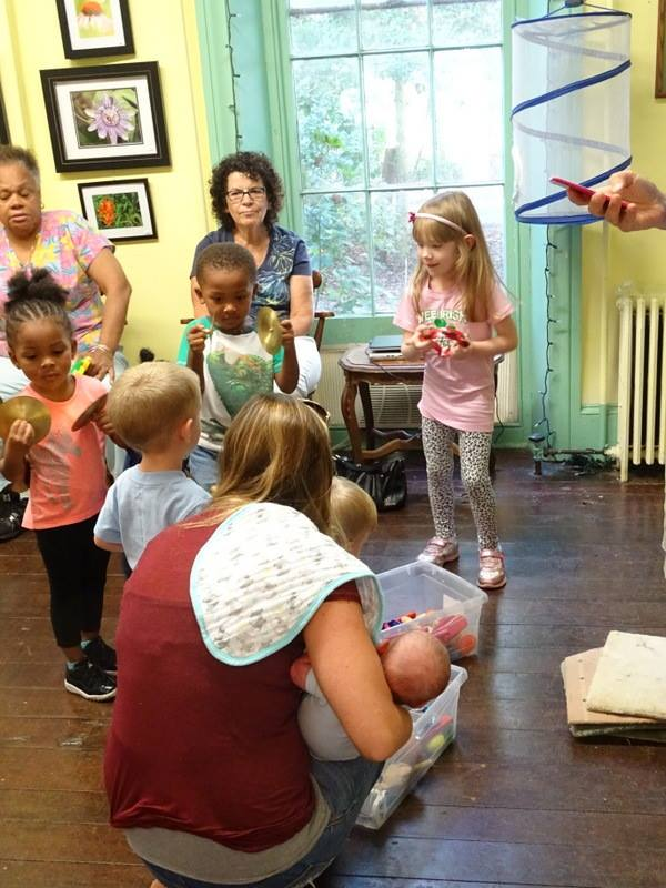 Tuesday Preschool Story and Music Time at Rancocas Nature Center