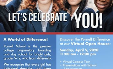 Purnell School Spring VIRTUAL OPEN HOUSE