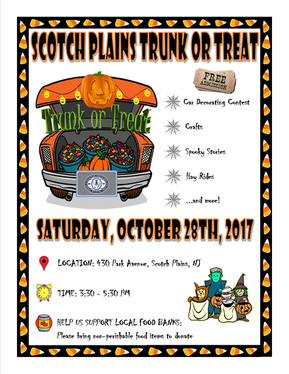 Trunk or Treat in Scotch Plains