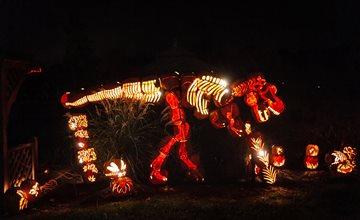 Brite Nites Halloween Event at the Wagner Farm Arboretum
