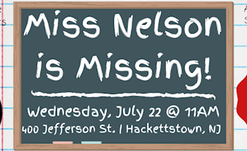 Miss Nelson is Missing at Centenary Stage Company