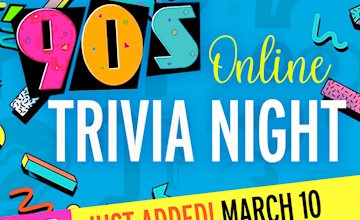 '90s Online Trivia Night - State Theatre New Jersey