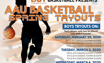 DST Basketball Presents AAU Basketball Spring Tryouts in Montville, NJ in Morris County