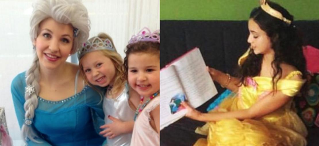Princess Events at Parteaz