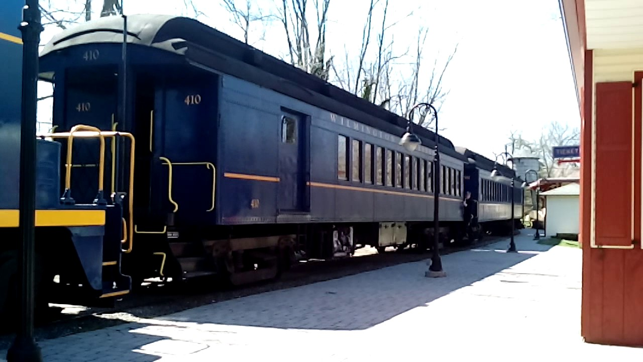 Easter Bunny Express at Wilmington and Western Railroad