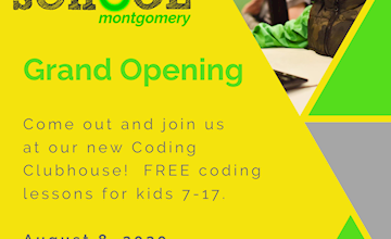 Grand Opening at the CoderSchool Montgomery