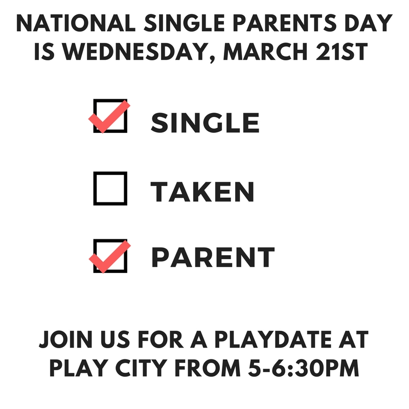 Single Parenting Play Date/Group