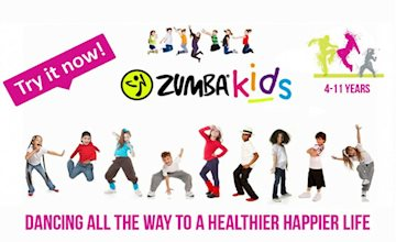Zumba Kids Dance - DEMO - New Providence Ages 4++
