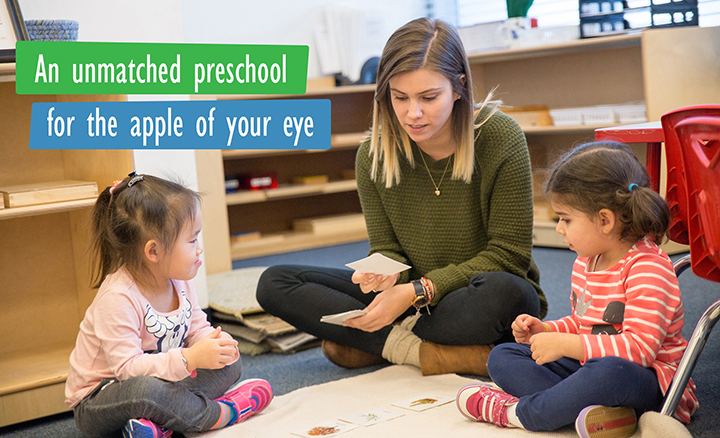 Apple Montessori Open House (multiple dates/locations)