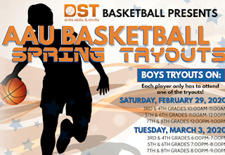 DST Basketball - AAU Boys Basketball Spring Tryouts