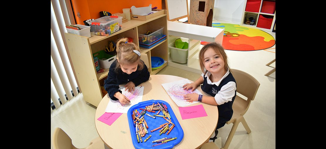 Preschool through grade 2 students are challenged and learning every day.