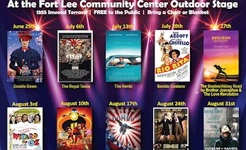 Fort Lee Movies & Music Under the Stars