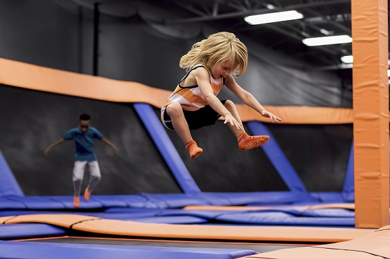 Toddler Time at Sky Zone