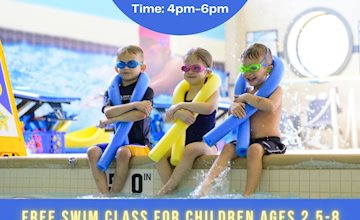 Free Swim Lesson for ages 2.5yrs-8yrs at Five Star Swim School in Edison