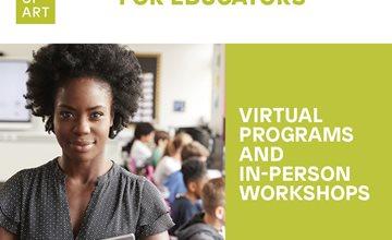 Newark Museum Educator Programs