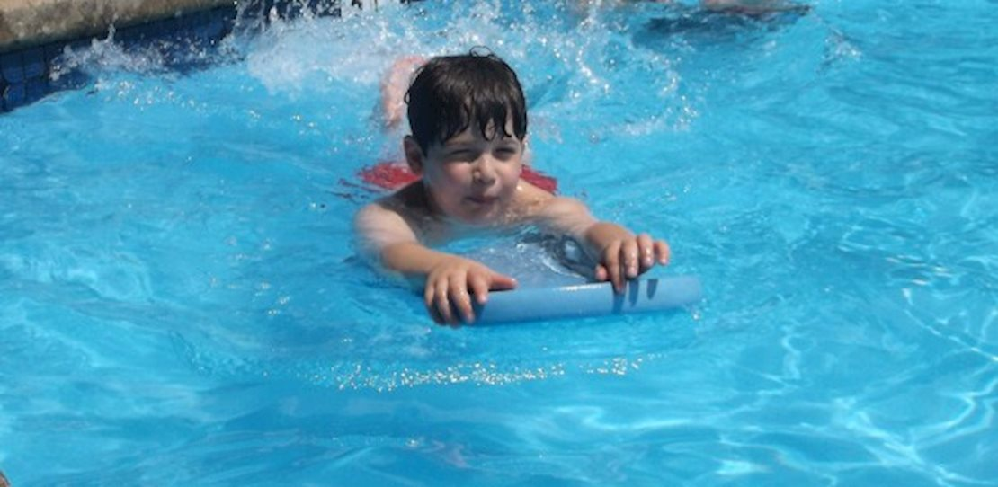 Our onsite heated pool allows campers to receive instruction and enjoy free swim.