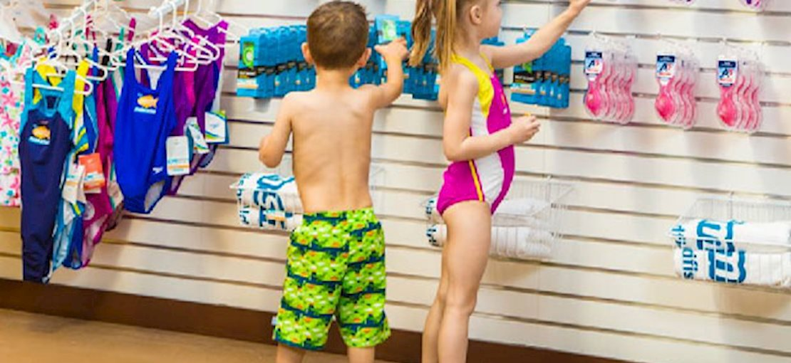 Check out our Pro Shop for a treat after lessons and find all the swim gear you need!