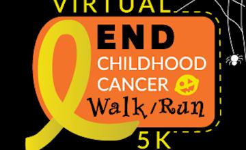 Virtual End Childhood Cancer 5K - Halloween Edition