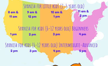 Toc Toc Spanish For Little Kids (6 - 12 Years Old)