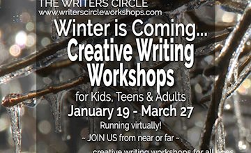 Weekly Creative Writing Workshops for Kids, Teens & Adults-Online