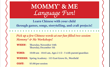 Mommy and Me Language Fun at Spring Academy in Westfield
