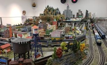 Mega Model Trains at the Morris Museum