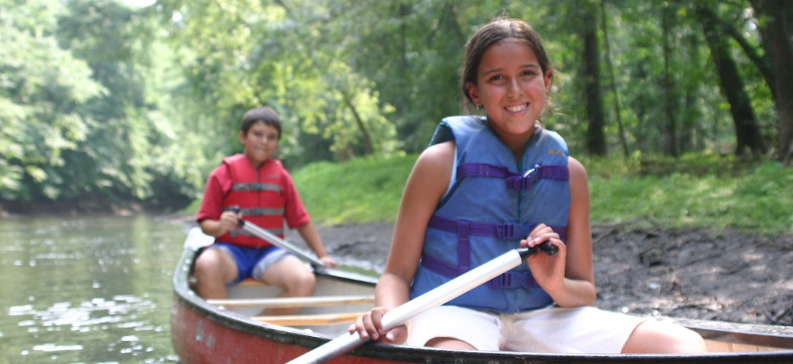 All of our campers learn the fundamentals of safe boating from certified instructors.