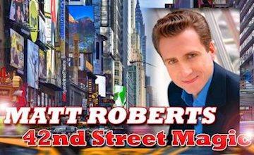 Master Magician Matt Roberts at The Green Room 42