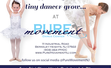 Free Trial Week at Pure Movement Dance Center