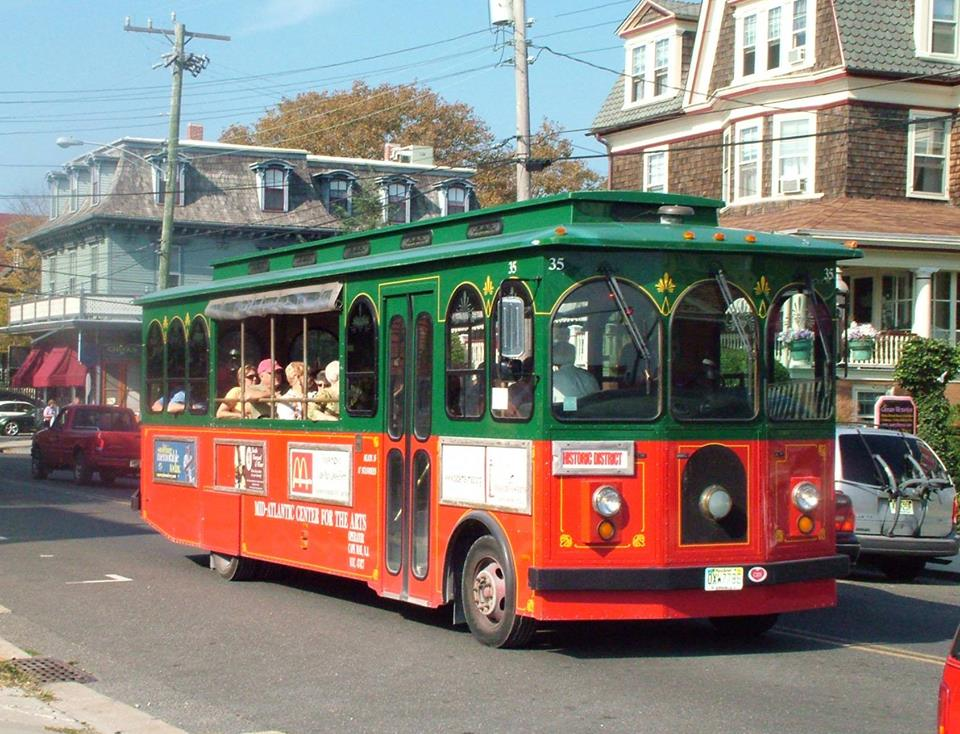 Winter Trolley Tours in Cape May
