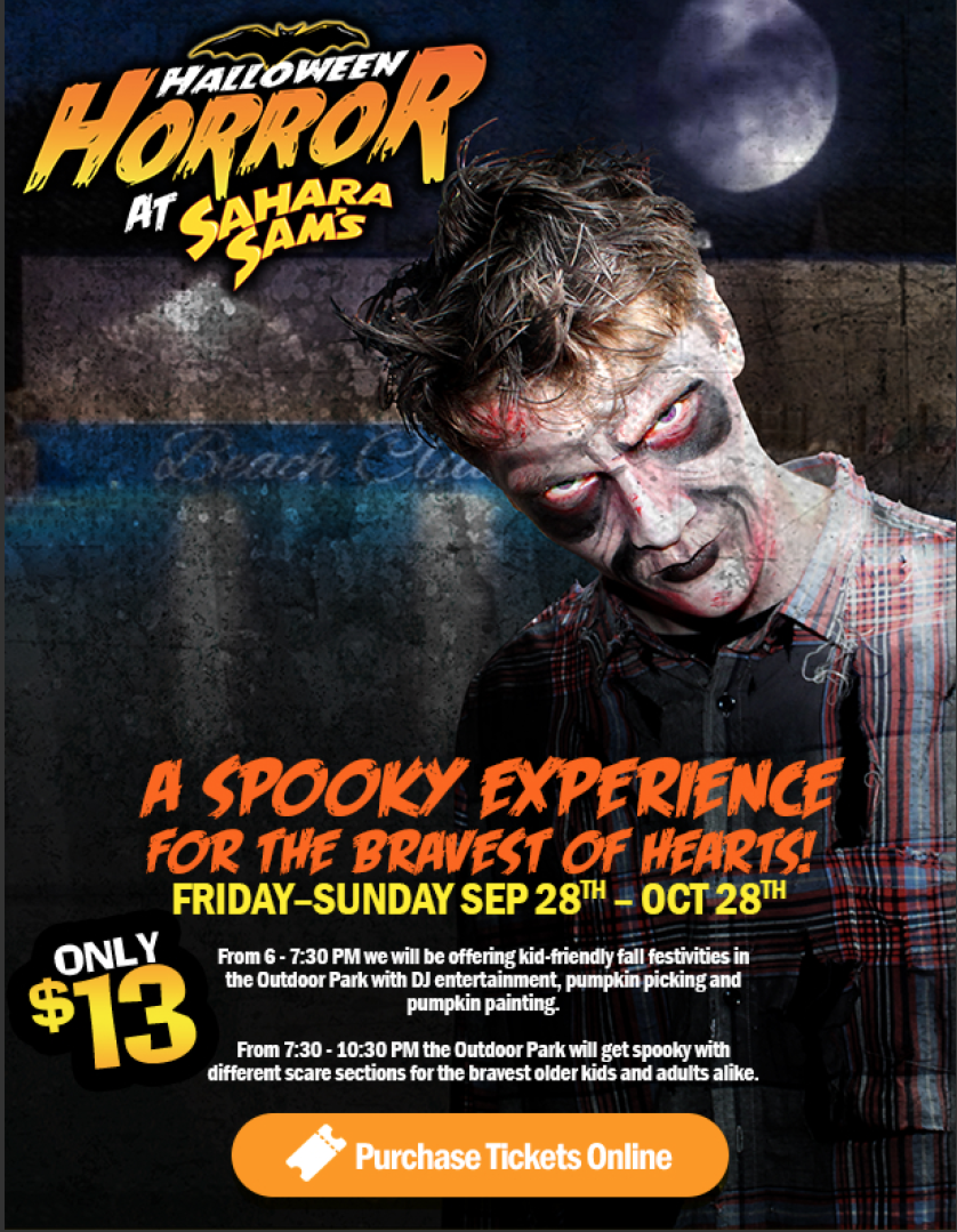 Halloween Horror at Sahara Sam's