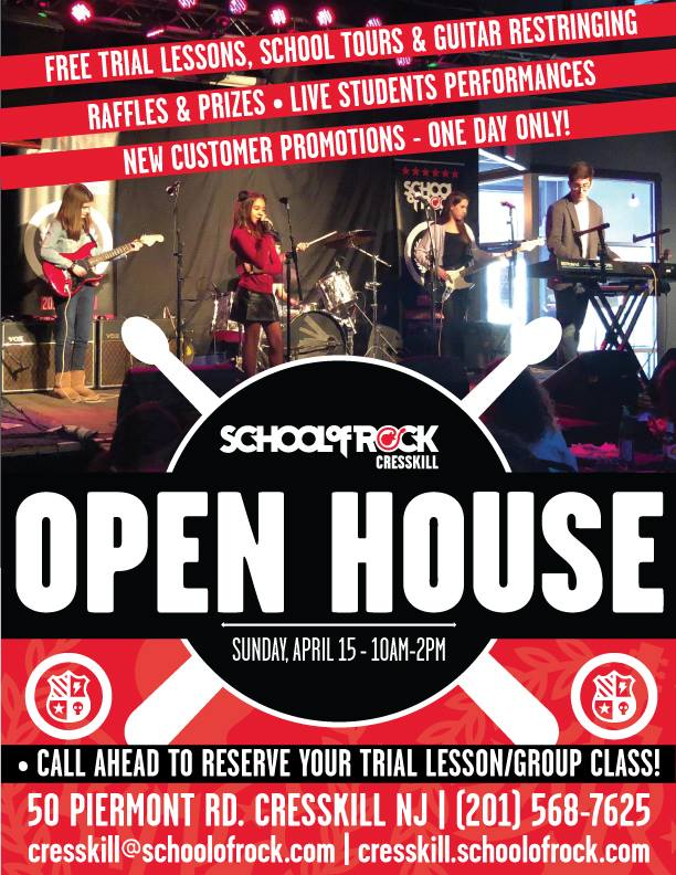School of Rock Cresskill Spring Open House