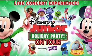 Disney Junior Holiday Party! On Tour at Count Basie Theatre