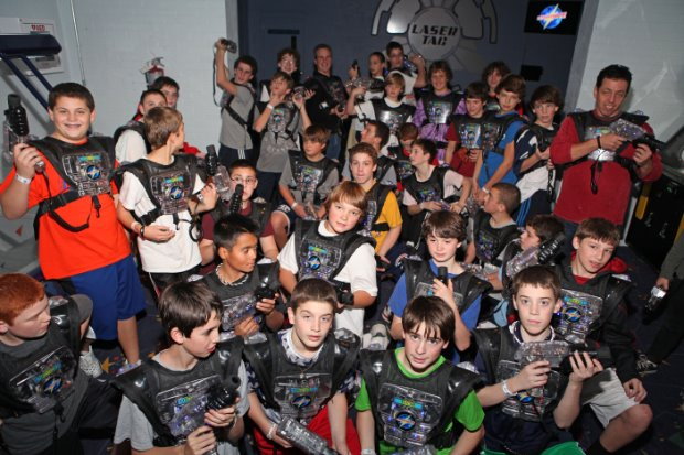 Branchburg Sports Complex is home to a 9,000 square foot, four-level interactive laser tag arena, located within the Family Entertainment Center.