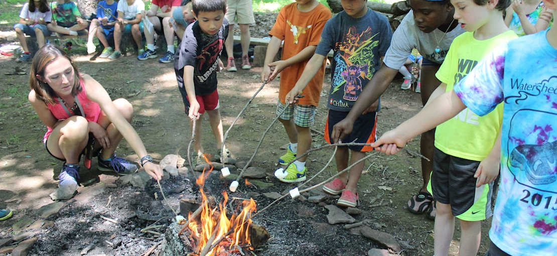 Roast marshmallows with your friends!