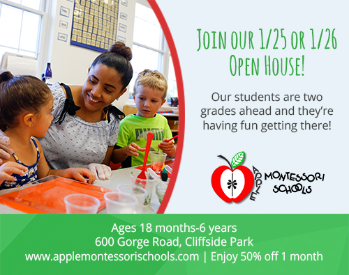 Apple Montessori Cliffside Park Open House