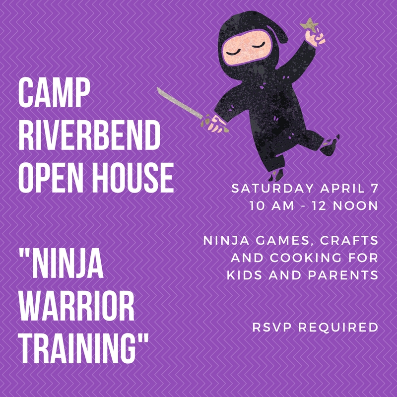 Camp Riverbend Ninja Warrior Training Open House