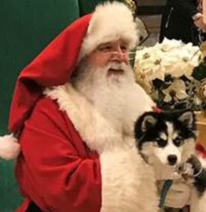Paws & Claus - Photos of You, Your Pet and Santa at The Outlets at Bergen Town Center