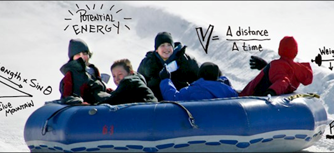 The SCIENCE OF SLIDING - field trip!