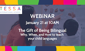 Webinar – The Gift of Being Bilingual: Why, When, and How to teach your child languages