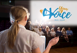 Your Voice! Public Speaking Skills for Teens.