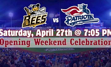 Somerset Patriots vs. New Britain Bees Baseball Game