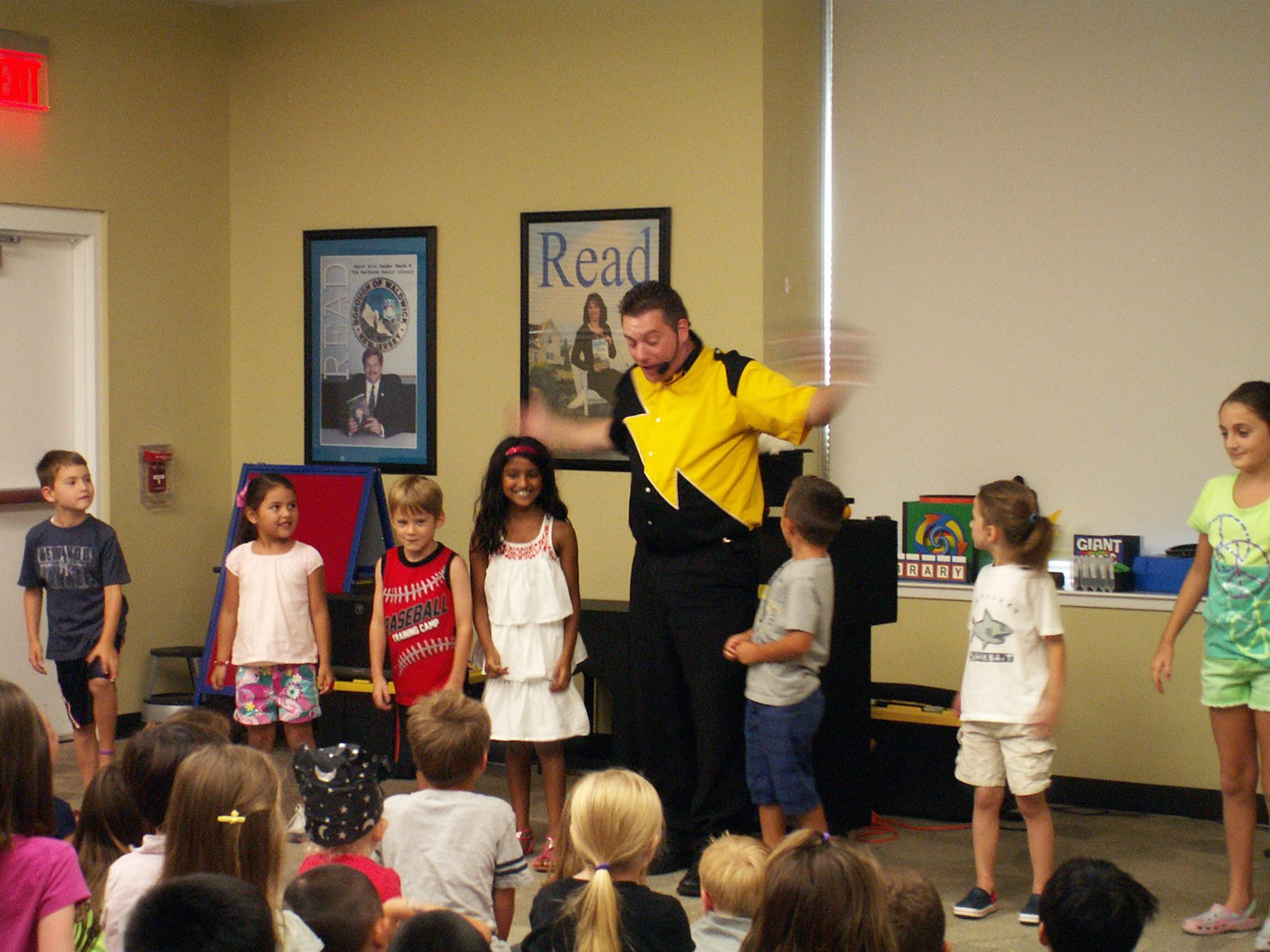 Save the Earth Magic Show with Magician Steve Woyce at Northvale Public Library,