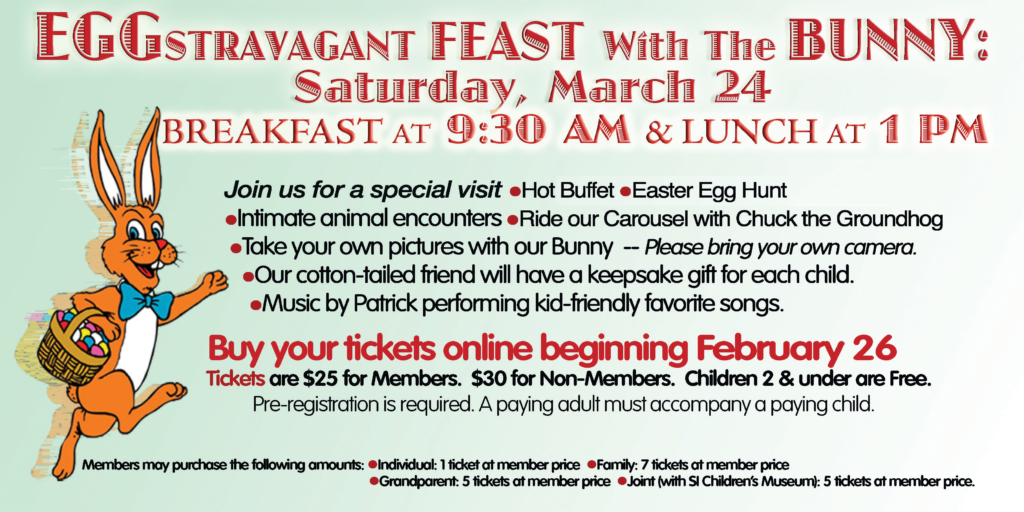 Staten Island Zoo's Eggstravagant Feast with the Bunny