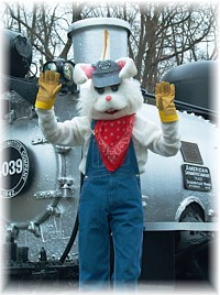 Whippany Railway Museum's 26th Annual Easter Bunny Express Train Rides