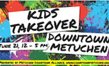 Kids Takeover Downtown Metuchen